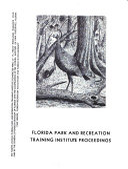 Pdf Florida Park and Recreation Training Institute Proceedings