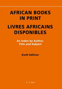 African Books In Print