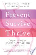 Prevent  Survive  Thrive