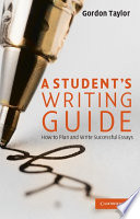 A Student S Writing Guide