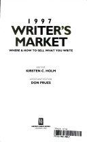 1997 Writer S Market Book