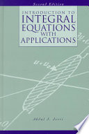Introduction to Integral Equations with Applications