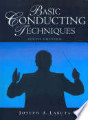 Basic Conducting Techniques with Media DVD