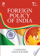 Foreign Policy Of India 7e