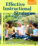 BUNDLE  Moore  Effective Instructional Strategies  2e   Johnson  Developing Portfolios in Education  2e