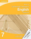 Books - Cambridge Checkpoint English Workbook Book 7 | ISBN 9781107647817