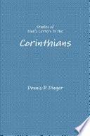 Studies Of Paul S Letters To The Corinthians