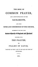 The Book of Common Prayer, etc. With an introduction by J. Reeves
