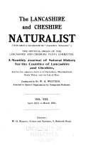 Lancashire and Cheshire Naturalist