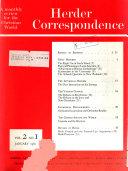 Herder Correspondence