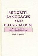 Minority Languages and Bilingualism