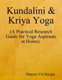 Kundalini   Kriya Yoga