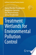 Treatment Wetlands for Environmental Pollution Control Book