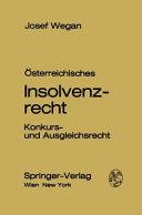 Österreichisches Insolvenzrecht