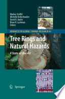 Tree Rings and Natural Hazards Book