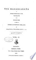 The Mahabharata of Krishna Dwaipayana Vyasa    anti parva