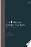 The Future of Commercial Law