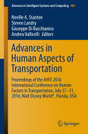 Pdf Advances in Human Aspects of Transportation Telecharger
