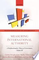 Measuring International Authority