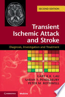 Transient Ischemic Attack and Stroke Book