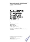 Project MATCH Hypotheses