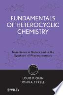 Fundamentals of Heterocyclic Chemistry Book