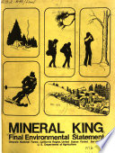 Mineral King Recreation Development