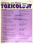 Veterinary And Human Toxicology Book PDF