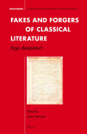 Fakes and Forgers of Classical Literature