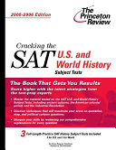 Cracking the SAT U. S. and World History Subject Tests