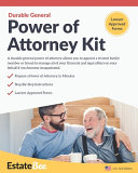 Durable General Power of Attorney Kit
