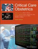 Critical Care Obstetrics Pdf/ePub eBook