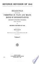 Revenue Revision Of 1941