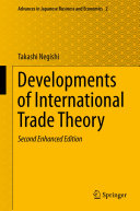 Developments of International Trade Theory [Pdf/ePub] eBook