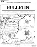Bulletin   Association of Canadian Map Libraries