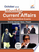 October 2019 Monthly Current Affairs With Mcqs For Competitive Exams