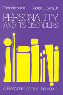 Personality And Its Disorders Book