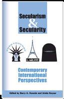 Secularism & Secularity