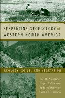 Pdf Serpentine Geoecology of Western North America