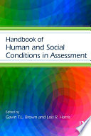 Handbook of Human and Social Conditions in Assessment
