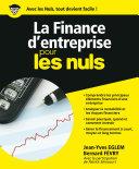 Pdf La Finance d'entreprise pour les Nuls Telecharger