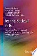 Techno-Societal 2016