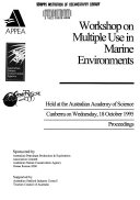Workshop on Multiple Use in Marine Environments