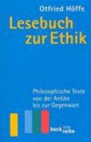 Lesebuch zur Ethik