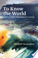 To Know the World Book PDF