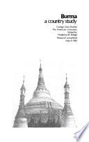 Burma A Country Study