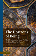 The Horizons of Being