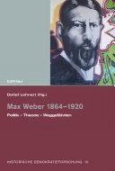 Max Weber 1864–1920
