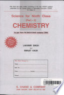 Science for Ninth Class Part2 CHEMISTRY