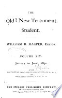 The Old   New Testament Student
